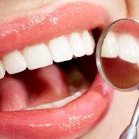 Чистые зубки.
